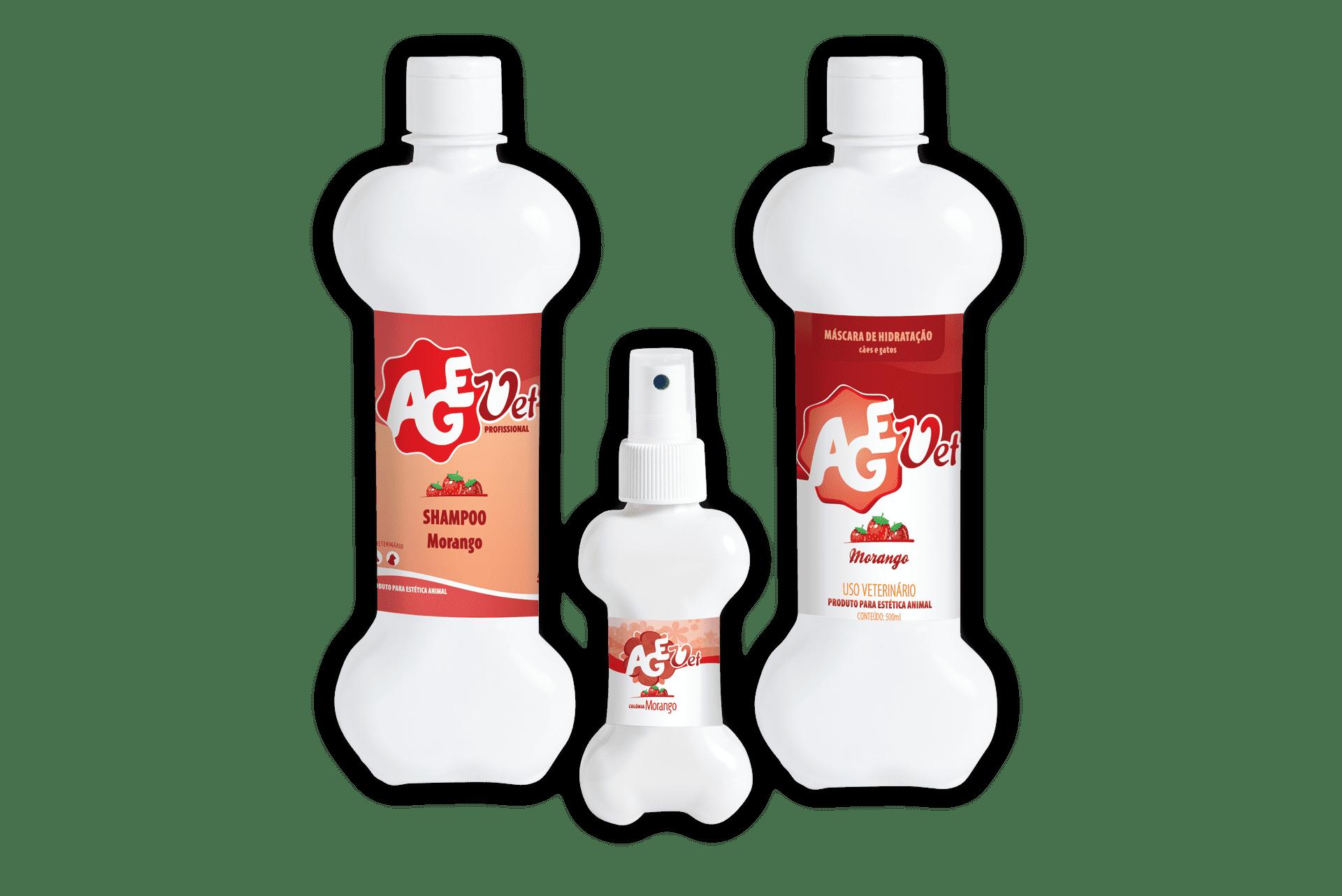 Foto do produto Kit de Hidratação de Morango para visualização